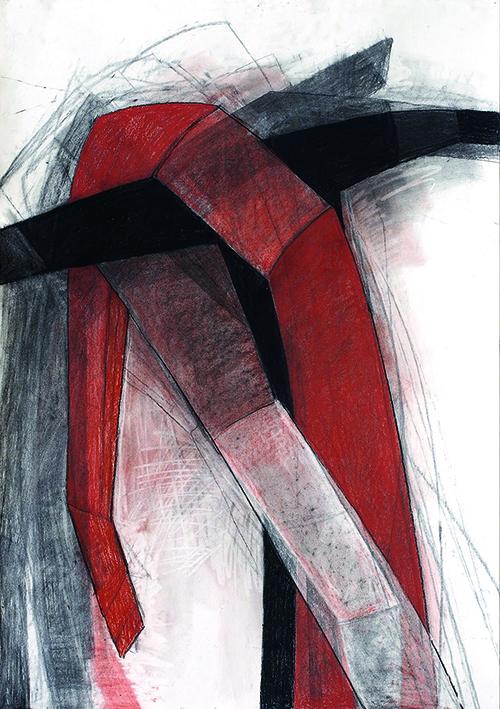 Beate Debus: Kreuzüberhangen
