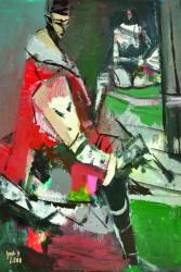 Jost Heyder: Maler im roten Kittel
