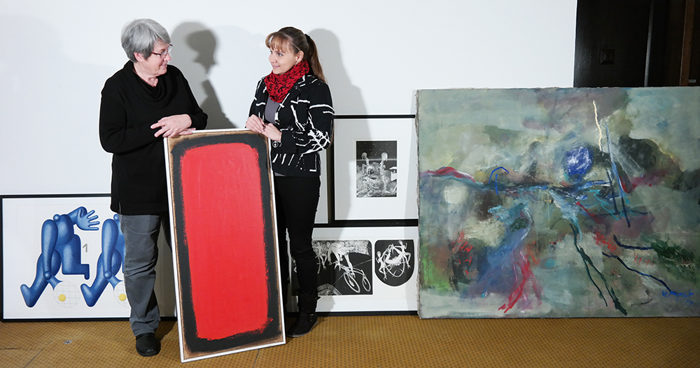Stefanie Schreiner und Linn Kroneck