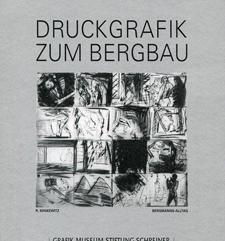 Druckgrafik zum Bergbau