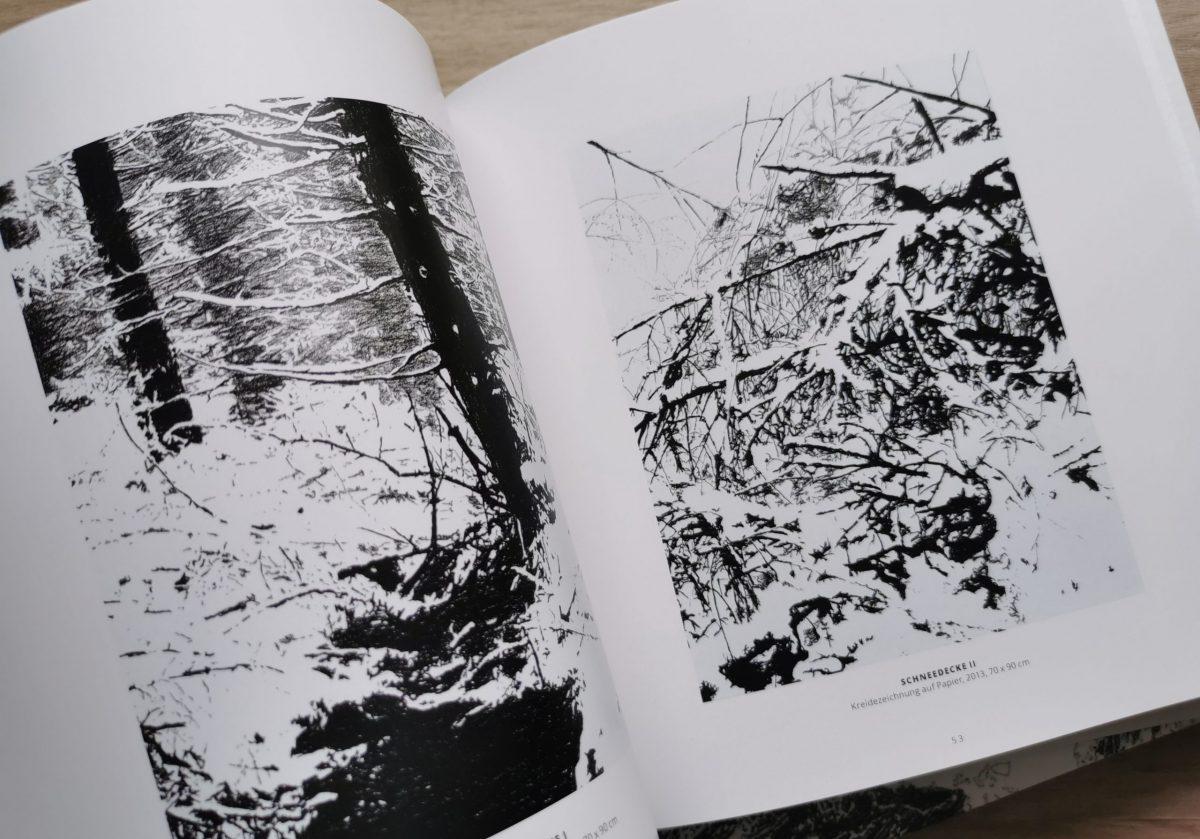 Draußen, Katalog, Schneedecke II, Sara Möbius
