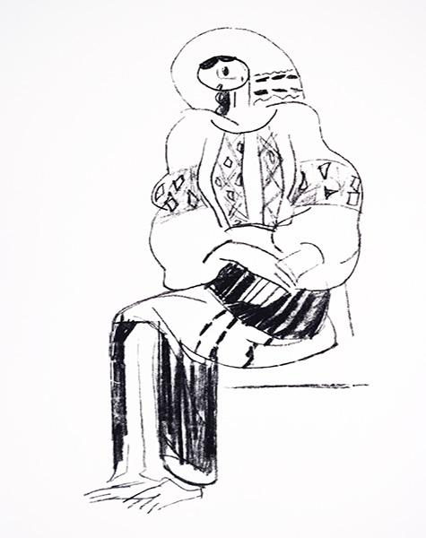 Rumänien • Dorél Dobocan • Sitzende