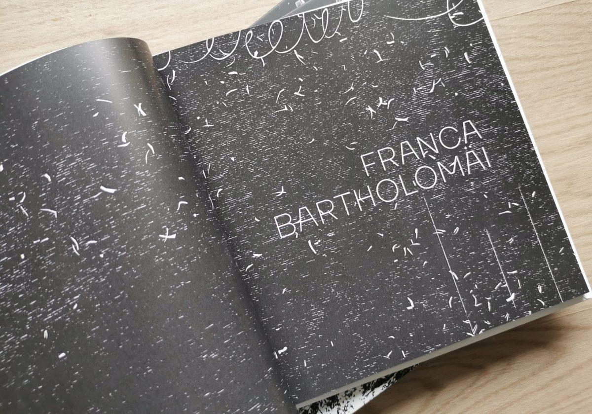 Draußen, Katalog Titelseite, Franca Bartholomäi