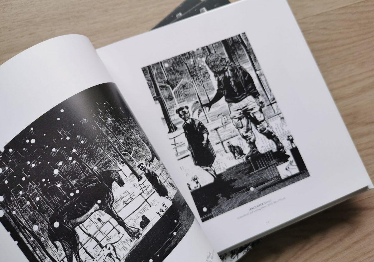 Draußen, Katalog Irrlichter, Franca Bartholomäi