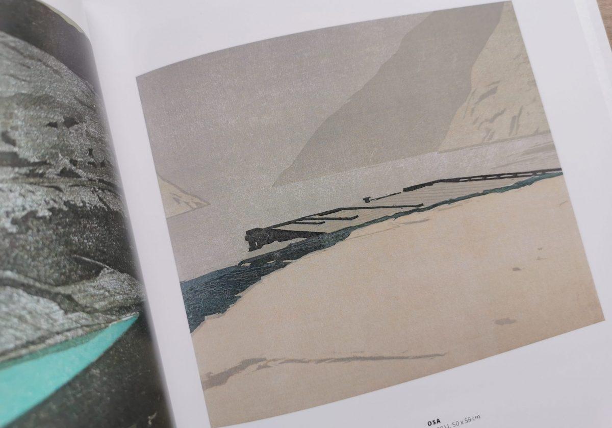 Draußen, Katalog, OSA, Christine Ebersbach, Farbholzschnitt